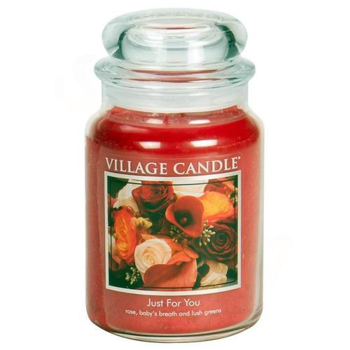 Velká vonná svíčka ve skle Just For You 645g - Jen pro tebe
