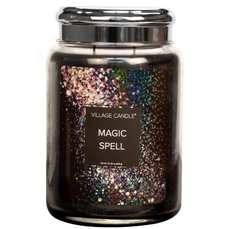 Village Candle Velká vonná svíčka ve skle Magic Spell 645g - Kouzlo
