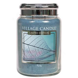 Village Candle Velká vonná svíčka ve skle Purity 645g