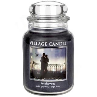 Village Candle Velká vonná svíčka ve skle Rendezvous 645g - Rande