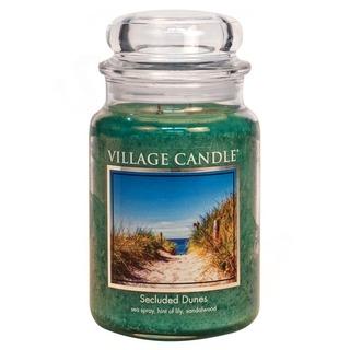Village Candle Velká vonná svíčka ve skle Secluded Dunes 645g - Písečné duny