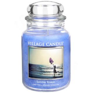Village Candle Velká vonná svíčka ve skle Summer Breeze 645g - Letní vánek