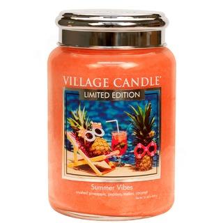 Village Candle Velká vonná svíčka ve skle Summer Vibes 645g