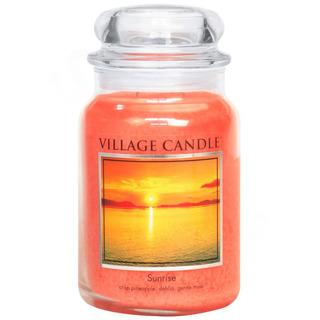 Village Candle Velká vonná svíčka ve skle Sunrise 645g - Východ slunce