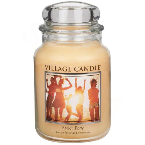 Village Candle Beach Party 645g - velká vonná svíčka ve skle Plážová párty