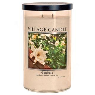 Village Candle Vůně měsíce březen 2020 - vonná svíčka ve skle Gardenia 538g - Gardénie