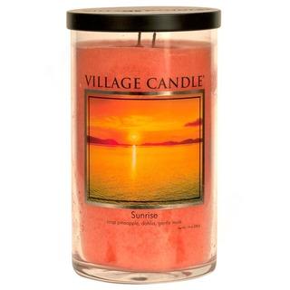 Village Candle Vůně měsíce květen 2020 - vonná svíčka ve skle Sunrise 538g - Východ slunce
