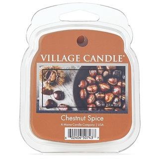 Village Candle Vonný vosk Chestnut Spice 62g - Pečené kaštany