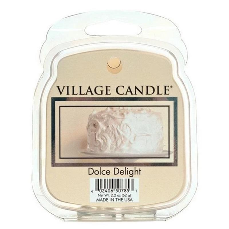 Village Candle Vonný vosk Dolce Delight 62g - Sametové potěšení