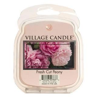 Village Candle Vonný vosk Fresh Cut Peony 62g - Pivoňky
