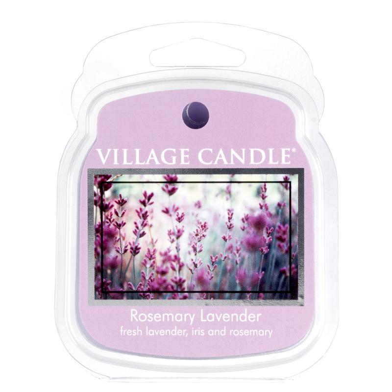 Village Candle Vonný vosk Rosemary Lavender 62g - Rozmarýn a levandule
