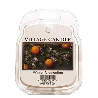 Village Candle Vonný vosk Winter Clementine 62g - Sváteční mandarinka