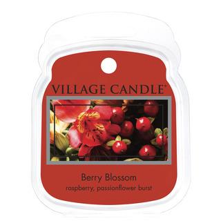 Village Candle Vonný vosk Berry Blossom 62g - Červené květy