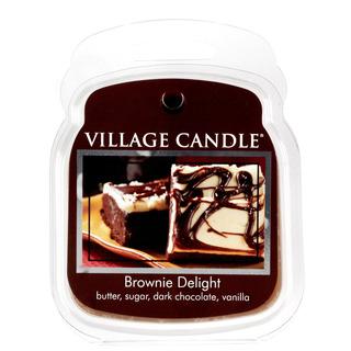 Village Candle Vonný vosk Brownie Delight 62g - Čokoládový dortík