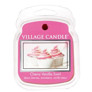 Village Candle Vonný vosk Cherry Vanilla Swirl 62g - Višeň a vanilka