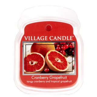 Village Candle Vonný vosk Cranberry Grapefruit 62g - Brusinka a grapefruit
