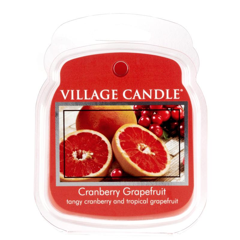 Village Candle Vonný vosk Cranberry Grapefruit 62g - Brusinka a grapefruit