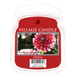 Village Candle Vonný vosk Dahlia 62g - Jiřina