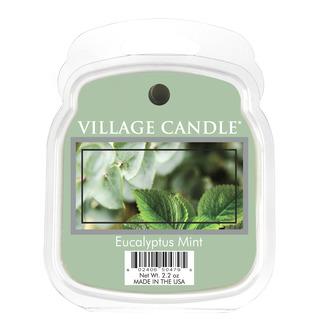 Village Candle Vonný vosk Eucalyptus Mint 62g - Eukalyptus a máta