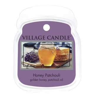 Village Candle Vonný vosk Honey Patchouli 62g - Med a pačuli