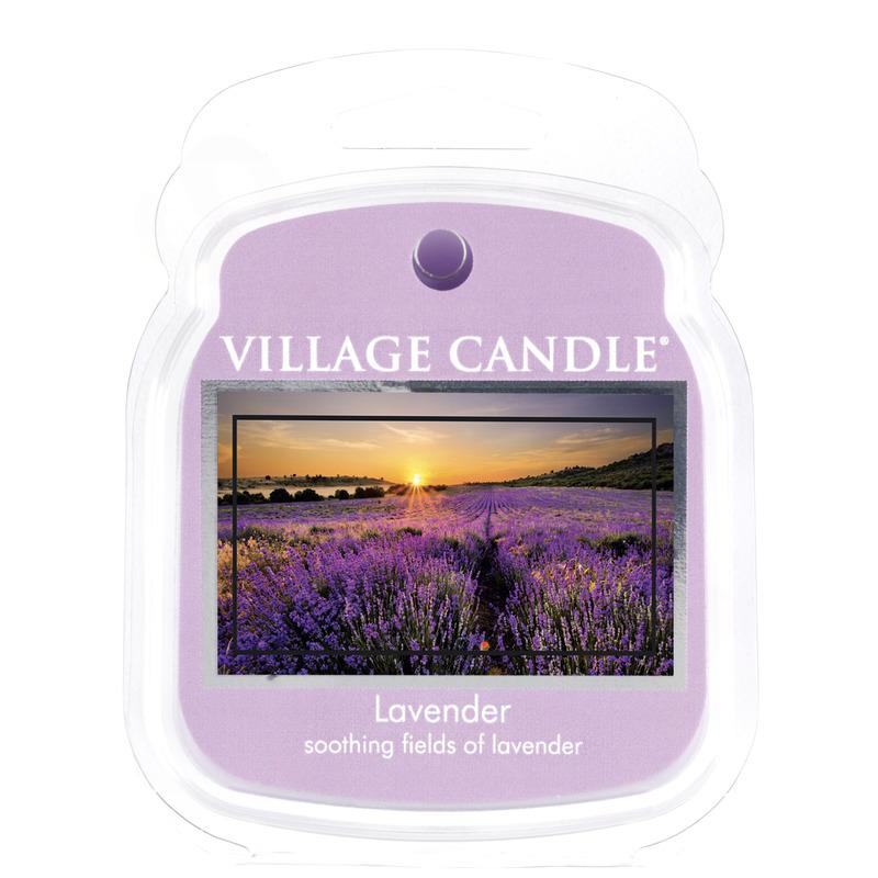 Village Candle Vonný vosk Lavender 62g - Levandule