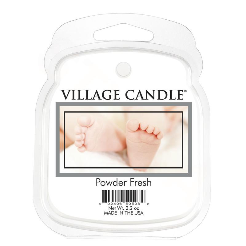 Village Candle Vonný vosk Powder Fresh 62g - Pudrová svěžest
