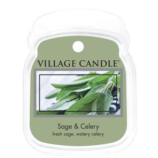 Village Candle Vonný vosk Sage Celery 62g - Svěží šalvěj