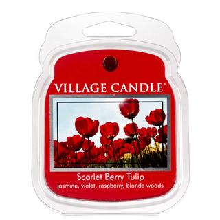Village Candle Vonný vosk Scarlet Berry Tulip 62g - Tulipány