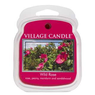 Village Candle Vonný vosk Wild Rose 62g - Divoká růže