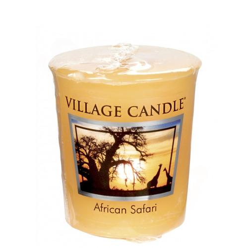 Village Candle African Safari 57g - votivní svíčka Africké safari