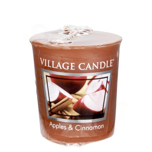 Village Candle Apples and Cinnamon 57g - votivní svíčka Jablko a skořice