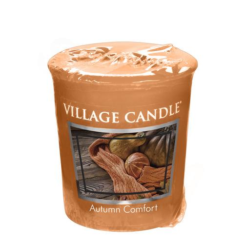 Village Candle Autumn Comfort 57g - votivní svíčka Hřejivý podzim