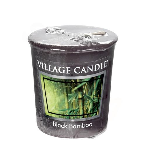 Village Candle Black Bamboo 57g - votivní svíčka Bambus
