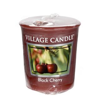 Village Candle Votivní svíčka Black Cherry 57g - Černá třešeň