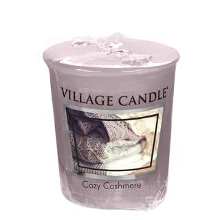 Village Candle Votivní svíčka Cozy Cashmere 57g - Kašmírové pohlazení