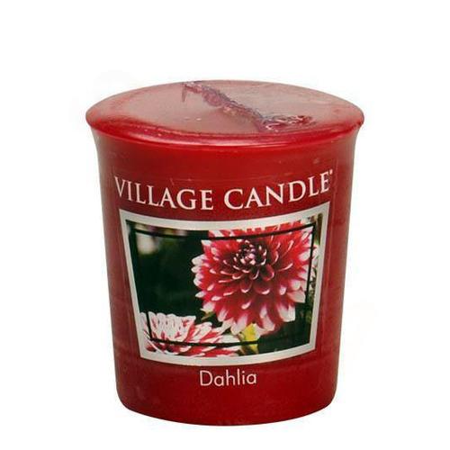 Village Candle Dahlia 57g - votivní svíčka Jiřina