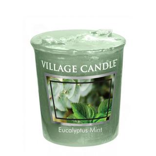 Village Candle Votivní svíčka Eucalyptus Mint 57g - Eukalyptus a máta