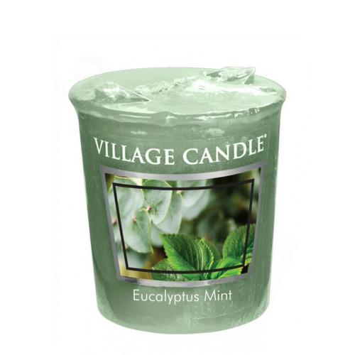 Village Candle Eucalyptus Mint 57g - votivní svíčka Eukalyptus a máta