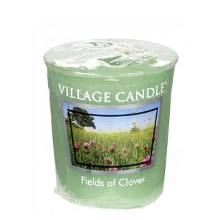 Village Candle Votivní svíčka Fields of Clover 57g - Zelená louka