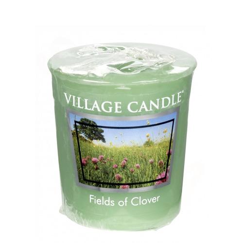 Village Candle Fields of Clover 57g - votivní svíčka Zelená louka