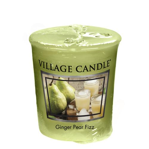 Village Candle Ginger Pear Fizz 57g - votivní svíčka Hruškový fizz se zázvorem