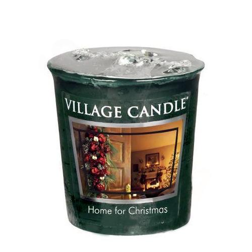 Village Candle Home for Christmas 57g - votivní svíčka Kouzlo Vánoc