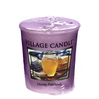 Village Candle Votivní svíčka Honey Patchouli 57g - Med a pačuli
