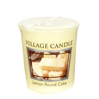 Village Candle Votivní svíčka Lemon Pound Cake 57g - Citronový koláč