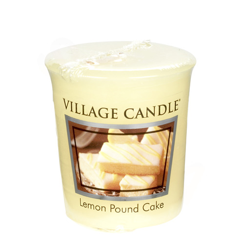Village Candle Lemon Pound Cake 57g - votivní svíčka Citronový koláč