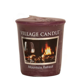 Village Candle Votivní svíčka Mountain Retreat 57g - Víkend na horách