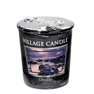 Village Candle Votivní svíčka Obsidian 57g - Obsidián
