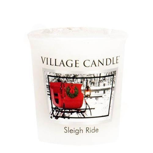 Village Candle Sleigh Ride 57g - votivní svíčka Zimní vyjížďka