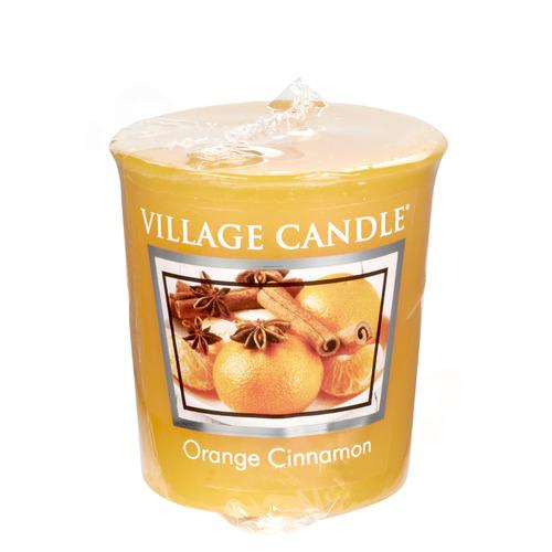 Village Candle Orange Cinnamon 57g - votivní svíčka Pomeranč a skořice