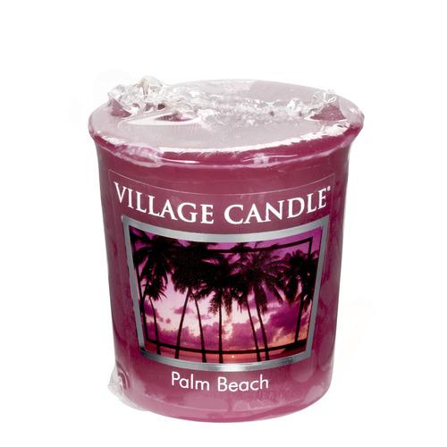 Village Candle Palm Beach 57g - votivní svíčka Palmová pláž